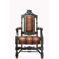 Трон антикварный (кресло)